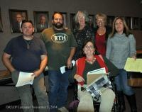 Rockhounds and Rockhound Supporters present at  the DRECP Meeting in Lancaster, CA on November 3, 2014